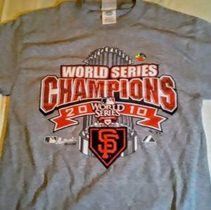 2010 San Francisco Giants world series t shirt